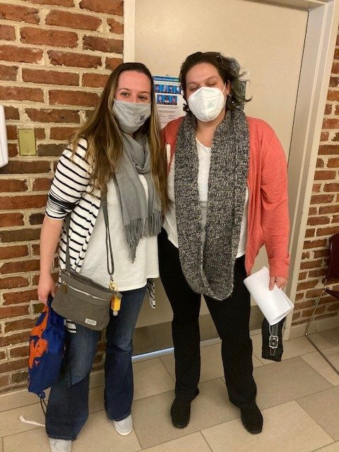 Lauren Jaquay, Board Certified Behavior Analyst, and Emelyn Valladares, Senior Behavior Intervention Specialist, both wanted the vaccine because they thought it was safe for them to do so, and to protect their families.